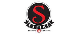 Satire Brewing Company Logo American Heroes In Action