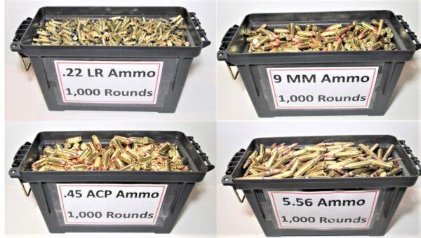 ammo rounds
